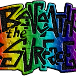 Beneath the Surface teen sumer reading logo in color