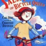 """Book cover for """"Sally Jean the Bicycle Queen"""""""
