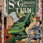 """The Adventures os Sir Gawain"" book cover"