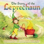 """Book cover """"The Story of the Leprechaun"""""""