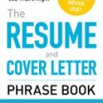 The Resume and Cover Letter Phrase Book Cover