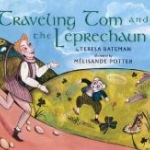 """Book cover """"Traveling Tom and the Leprechaun"""""""