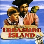 Link to poster for film version of Treasure Island