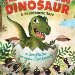 """""""The Ugly Duckling Dinosaur"""" book cover"""