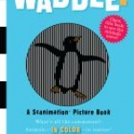 """Waddle!"" book cover"