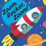 """Zoom, Rocket, Zoom!"" book cover"