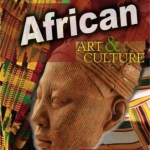 Book cover of African art book