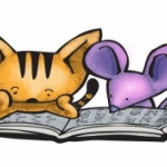 Cat and mouse reading