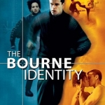 "Movie poster for ""The Bourne Identity"""
