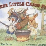 cover of Three Little Cajun Pigs