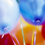 Picture of balloons.