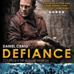 "Image of the movie poster for ""Defiance"""