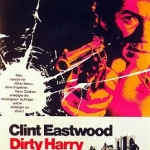 """Movie poster for """"Dirty Harry"""""""
