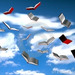 Photo of Flying Books