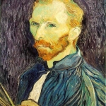 1889 Self-portrait of Vincent Van Gogh from the WebMuseum, courtesy www.ibiblio.org.