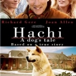 """Image of the poster for """"Hachi - A Dog's Tale"""""""
