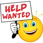 Picture of help wanted sign