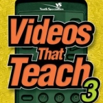 Videos that teach 3 : 75 more movie moments to get teenagers talking / by Doug Fields and Eddie James book cover