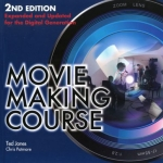 Book cover for Movie making course by Ted Jones and Chris Patmore.
