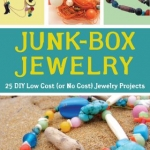Book cover for Junk box jewelry : 25 DIY low cost (or no cost) jewelry projects by Sarah Drew.