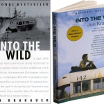 """""""into the Wild"""" book covers"""