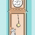 mouse and clock