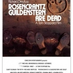 "Movie poster for ""Rosencrantz & Guildenstern are Dead"""