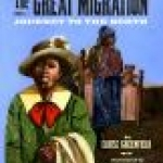 Book cover shows a young African-American woman walking forward, with a line of others behind her.