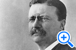 Theodore Roosevelt 26th President, 1901-1909, Historical Image Collection, Washingtoniana Division - SELECT to zoom