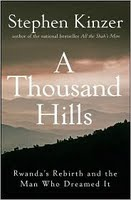 cover art for A Thousand Hills by Stephen Kinzer