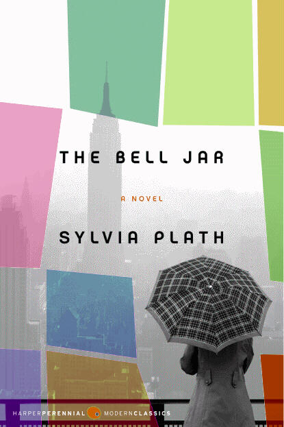 Book cover of Sylvia Plath's The Bell Jar