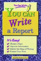 You Can Write a Report book cover