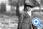 Young boy carry coal bucket ca 1900 Historical Image Collection - SELECT to zoom